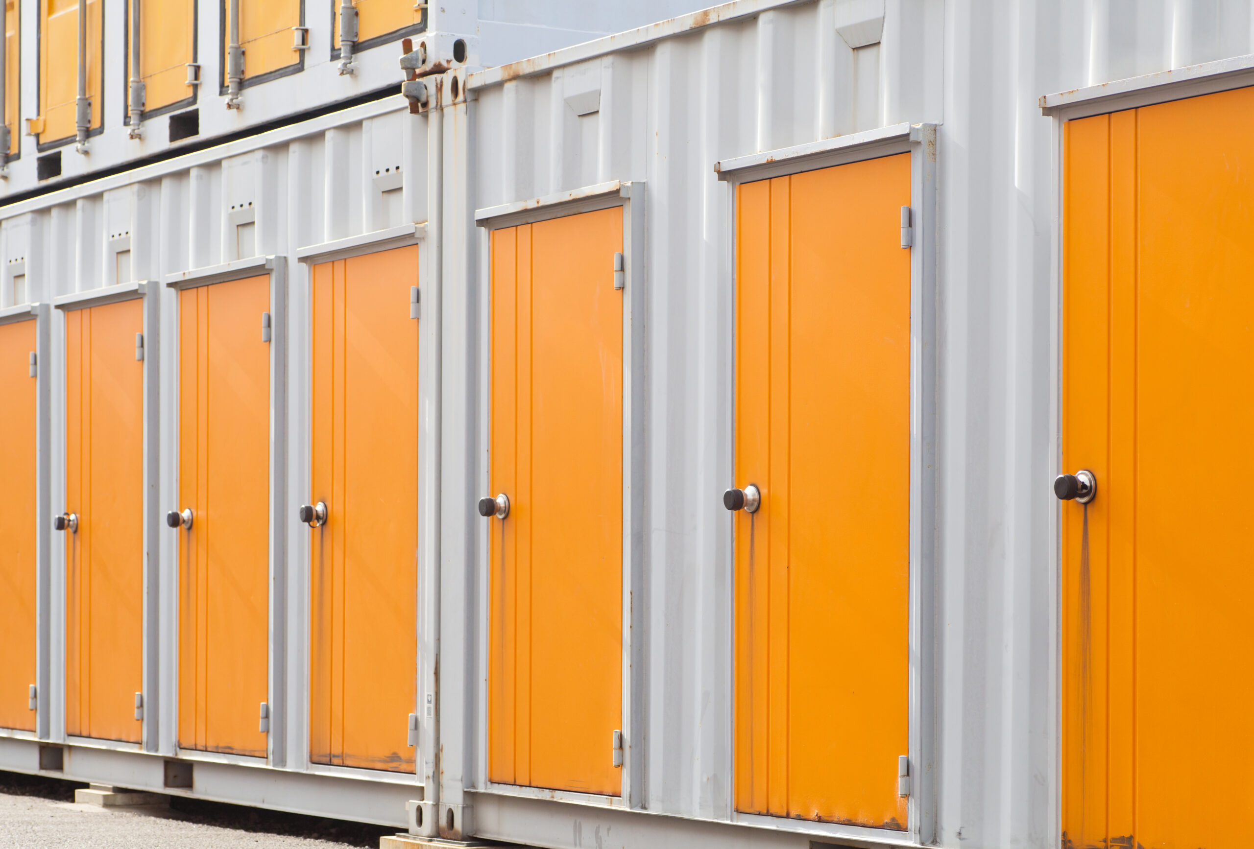 Storage units that are part of crates