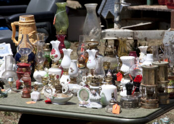 Image of items at an estate sale